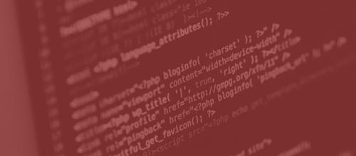 Code Bildschirm rot